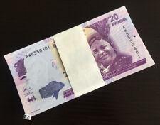 100 PCS Malawi 20 Kwacha, Banknotes,2012,P-57 UNC
