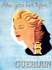 ADVERT COSMETIC MAKE UP BEAUTY PERFUME BLONDE ART POSTER PRINT LV120