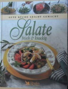 Salate frisch & knackig, Readers Digest, Gute Küche Leicht gemacht    #earthday