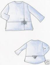Designer Schnittmuster Lagenlook Shirt Bali Gr M