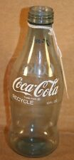 Experimental Coca-Cola Plastic Bottle, Monsanto, 1970/71, 10 Oz, 7-030, Recycle