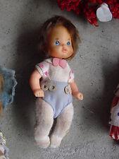 "Vintage 1976 Mattel Plastic and Vinyl Girl Character Doll 4 1/2"""