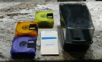 3.5 In Floppy Disk verbatim I. 44mg IBM Format with case and labels