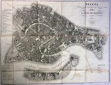 Venezia - Guida - Pianta - 1845