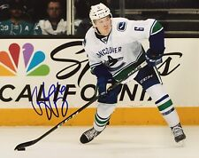 1286b1798 BROCK BOESER Signed Autographed 8x10 Photo VANCOUVER CANUCKS