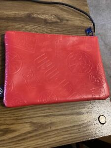 2018 Spider-Man Far From Home Columbia Movie Logo Embossed  Zipper Bag Pouch