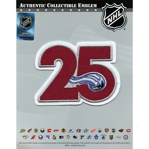 2020 Colorado Avalanche Team 25th Anniversary Season Logo Jersey Patch