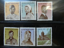 LUXEMBOURG #B258-B263 COMPLETE SET  MNH
