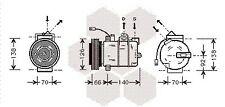 Kompressor, Klimaanlage | für AUDI A4 B5 VW PASSAT 3B A6 C5 Klimakompressor,
