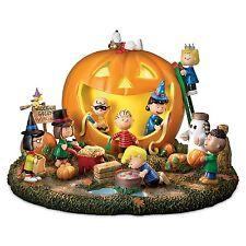 Peanuts Partytime Halloween Statue Great Pumpkin Sculpture Table Centerpiece