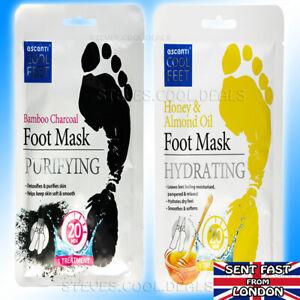 FOOT REPAIR MASK SOCK DEEP MOISTURISING DRY SKIN FEET HYDRATING Almond or Bamboo