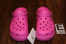 Classic Bae Clog Platform Wedge Pink Crocs Size 8 Womens