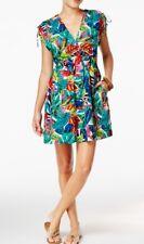 3f41aaeb554d3 Ralph Lauren Cover up Dress Plus Size 1x Carnivale Paisley Farrah Blue