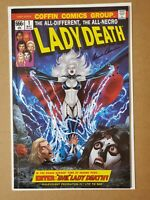 Lady Death Malevolent Decimation #1 Homage Edition Cover by Marat Mycheals w/COA