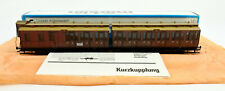 MARKLIN HO SCALE 4209 KPEV 3RD CLASS PRUSSIAN DOUBLE COMPARTMENT CAR