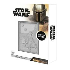 STAR WARS - MANDALORIAN BABY YODA SCENE COLLECTABLE INGOT LIMITED EDITION 9,995
