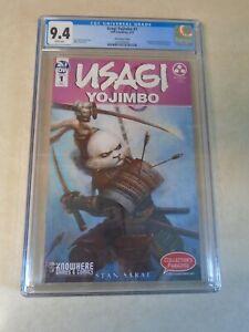Usagi Yojimbo Issue #1 Comic. Choi Variant Cover. CGC Grade 9.4. IDW. Sakai