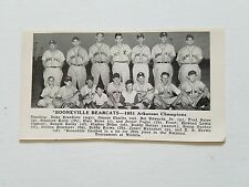 Booneville Bearcats Arkansas Casa Grande Cotton Kings AZ 1951 Baseball Team Pic