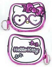 Hello Kitty Heart Glasses Face Coin Bag SANCB0306