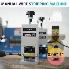 Manual Scrap Cable Stripper Wire Stripping Machine For Scrap Copper Recycling