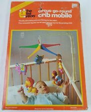 Vintage Baby Crib Mobile The First Years Crib Mobile Circus Go Round