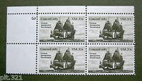 Sc # 2040 ~ Plate # Block ~ 20 cent US-Germany Issue (db4)
