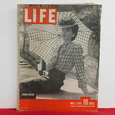 Spring Match Life Magazine Diana Dill Frank Sinatra South Africa  May 3 1943!!
