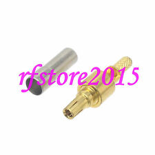 1pce Connector CRC9 male plug Window crimp RG316 RG174 LMR100 RF COAXIAL