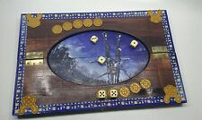 The Witcher DICE POKER wooden board.