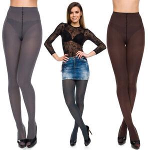 Ladies Opaque Plain Tights 100 Denier Stockings Smooth Pantyhose Size S-XL AA716