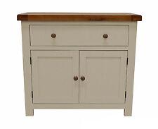 Croft Painted Oak Mini Sideboard / Painted Cupboard / New / Cabinet /Solid Wood