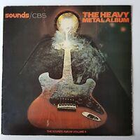 The Heavy Metal Album Vinyl LP Record Sounds Album 4 Compilation EX/EX+