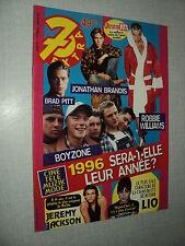 7 EXTRA 96/01 (3/1/96) ROBBIE WILLIAMS BRAD PITT JONATHAN BRANDIS LIO BOYZONE