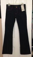 Banana Republic BR Boot Cut Dark Jeans Size 24p 00p 24 Petite