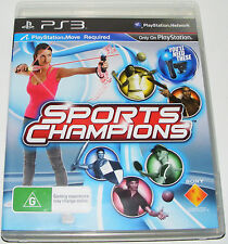 SPORTS CHAMPIONS--  (Playstation 3)