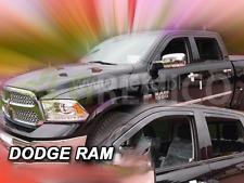 DODGE RAM 4-portes 2009-présent Deflecteurs de vent 4-pièces HEKO Bulles