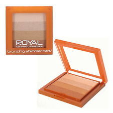 Royal Bronzing Shimmering Brick Bronzer Compact Powder Bronzer & Highlighter