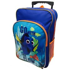 Disney Pixar Finding Dory  Deluxe Trolley Wheels Backpack bag Travel