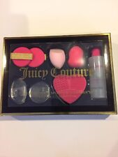 Juicy Couture 7 Pcs Ultimate Sponge Cleanser Set Cruelty Free