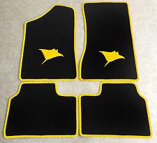 Autoteppich Fußmatten für Opel Manta B und CC  Rochen gelb Neuware 4teilig