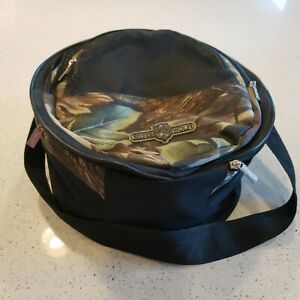 Silver Wolf Compact Cooler/Portable Charcoal Grill Combo camo camping
