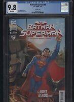 Batman/Superman #1 CGC 9.8 Superman variant 2019 Joshua Williamson MARQUEZ