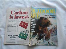 OUTDOOR LIFE Magazine-JANUARY,1981-CARMICHEL:HUNT FOR A GIANT KODIAK