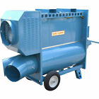 Sure Flame Indirect Fired Heater, Dual Fuel, Natural Gas Or Propane, 120V,