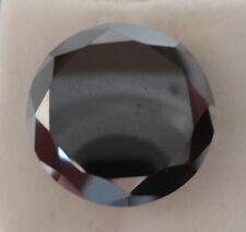 DIAMANTE CT 13.74 NATURALE TAGLIO BRILLANTE BLACK MM. 16.03 X 9.50 X 16,00