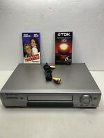 Mitsubishi HS-HD1100U DVHS VCR High Definition Works Tested No Remote Exc Cond!