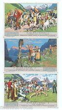 Série complète. LIEBIG. S1285 * LIFE IN THE ALPS * LA VIE SUR L'ALPAGE (1933)