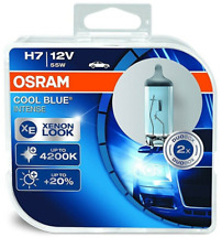 OSRAM H7 COOL BLUE INTENSE XENON LOOK 12V 55W Duo Box 2 Glühbirnen 64210CBI-HCB