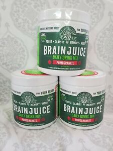 BRAIN JUICE POWDER DAILY DRINK MIX LOT OF 3