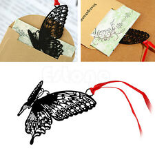 Metal Butterfly Bookmark Note Ducument Book Marker Label Novelty Stationery Gift